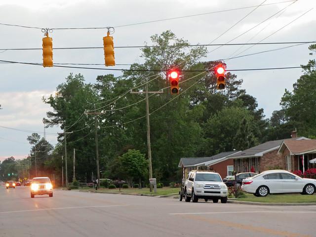 7th Street Traffic Light.
