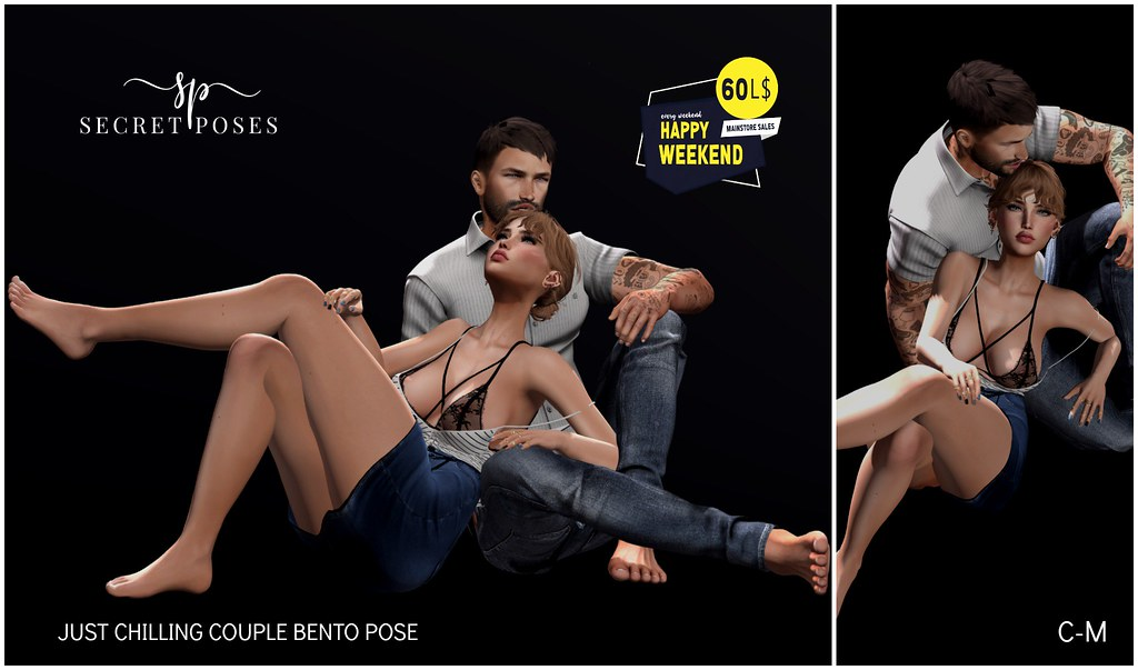 Secret Poses - Just Chilling @ Happy Weekend