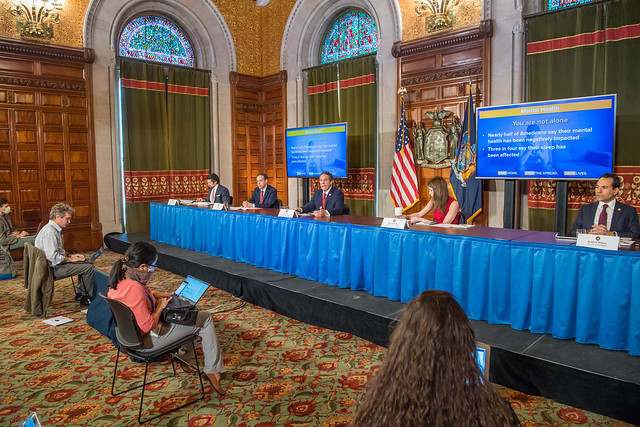 Governor Cuomo Holds Briefing on COVID-19 Response - 5/1