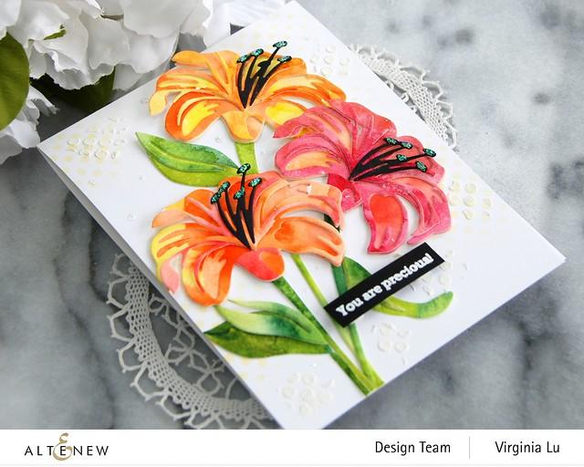Altenew-Craft-A-Flower-Lily-Virginia#3