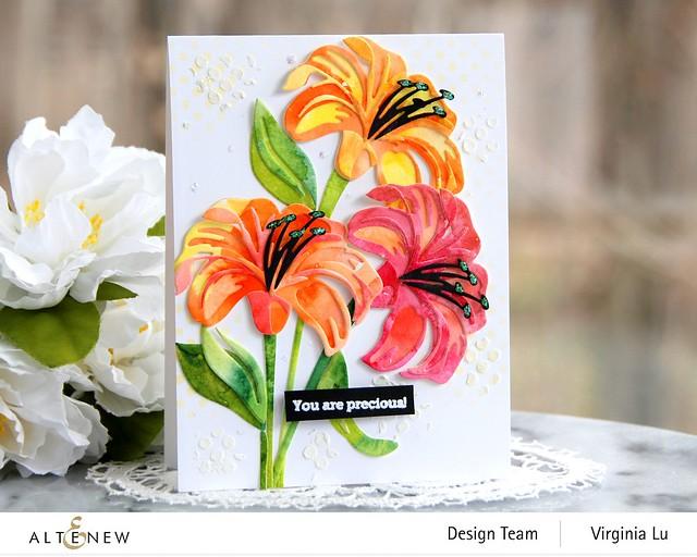 Altenew-Craft-A-Flower-Lily-Virginia#2