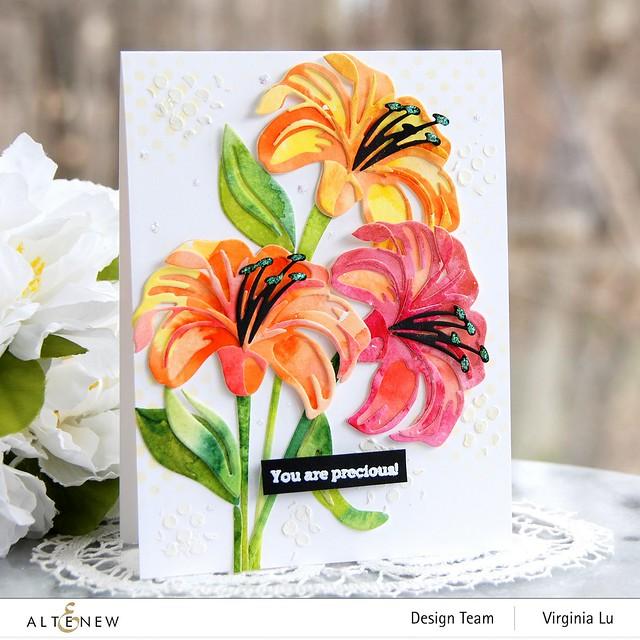 Altenew-Craft-A-Flower-Lily-Virginia#1