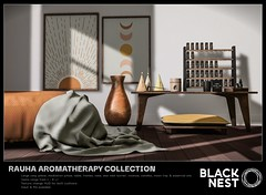 BLACK NEST / Rauha Aromatherapy Collection / FaMESHed