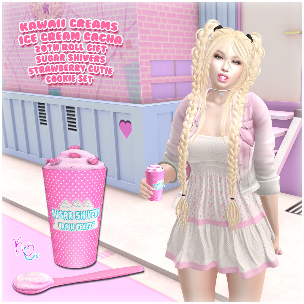 Kawaii Couture – Kawaii Creams Ice Cream Gacha 20th Roll Ad