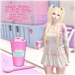 Kawaii Couture - Kawaii Creams Ice Cream Gacha 20th Roll Ad