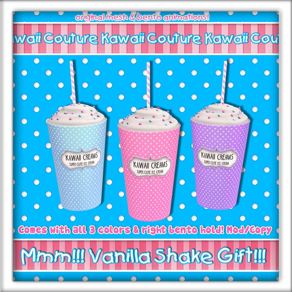 Kawaii Couture - Milk Shake Gift