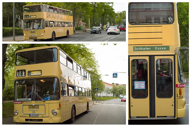Berlin Traditionsbus 1.5.2020 Linie 181