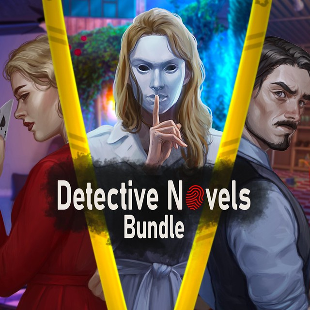 Thumbnail of Detective Novels Bundle on PS4