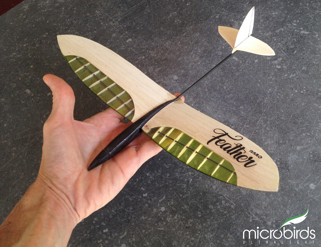 Micro Owl hobby glider size of your palm 12