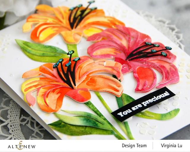 Altenew-Craft-A-Flower-Lily-Virginia#6