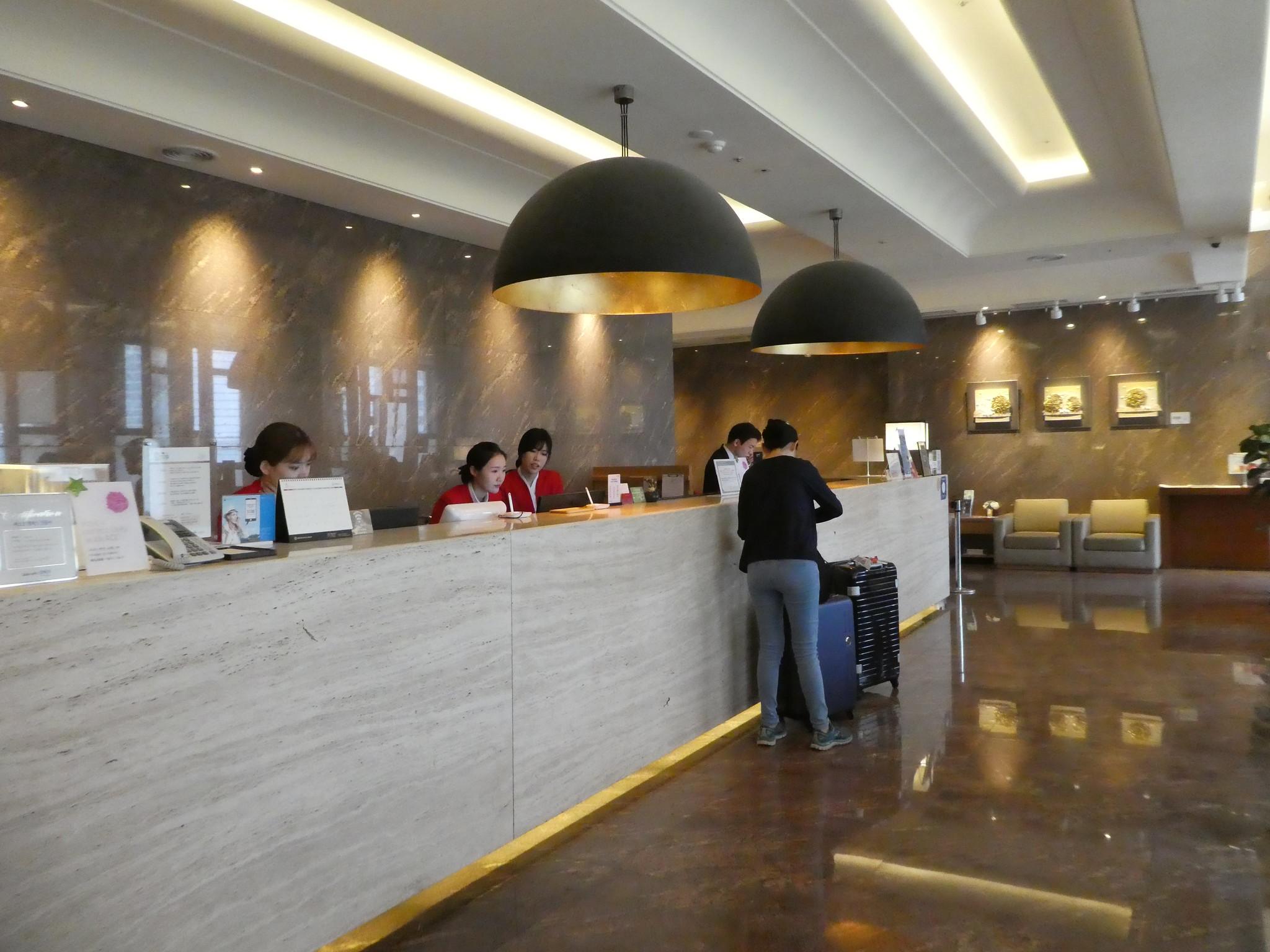 Lobby, Arban Hotel, Busan, South Korea