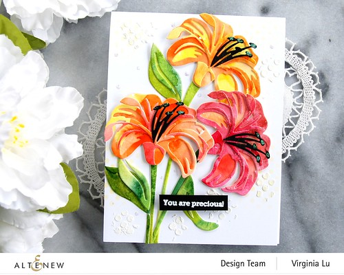 Altenew-Craft-A-Flower-Lily-Virginia#5
