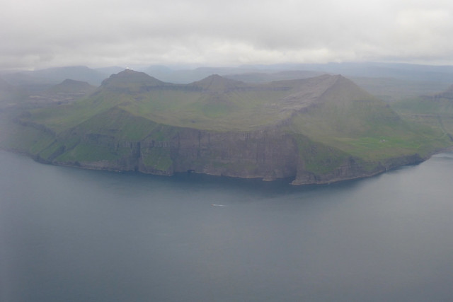 Approaching the Faroe Islands