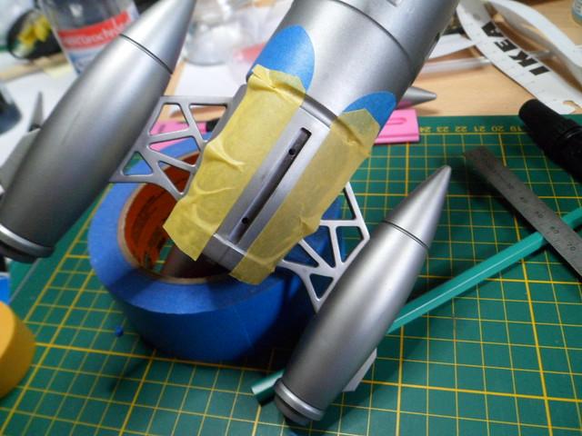 Pas-à-pas : Apollo 27 rocket [Pegasus 1/72] terminé en pg 4 et diorama à suivre - Page 3 49842420403_4be8eb6414_z