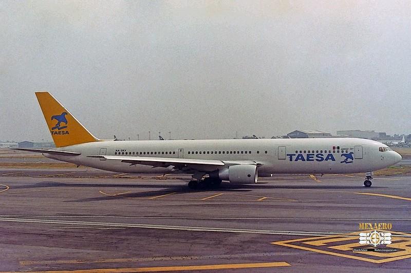 TAESA / Boeing 767-3Y0 (ER) / XA-SKY