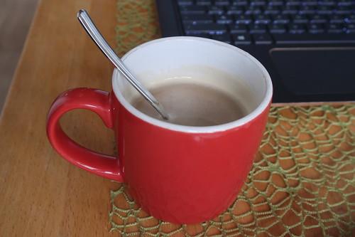 Kaffee (wie üblich zur Begrüßung)