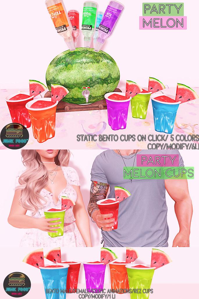 Junk Food – Party Melon TSS Ad