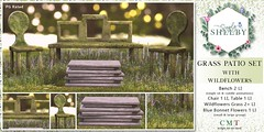 Simply Shelby Grass Patio Set PG