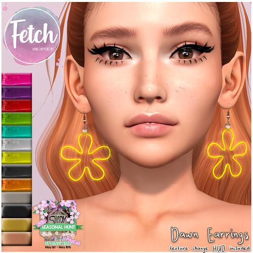 [Fetch] Dawn Earrings!