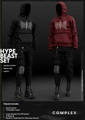 [COMPLEX] HYPEBEAST SET