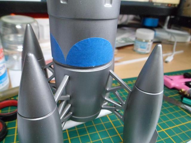 Pas-à-pas : Apollo 27 rocket [Pegasus 1/72] terminé en pg 4 et diorama à suivre - Page 3 49842962881_2b3c18c464_z