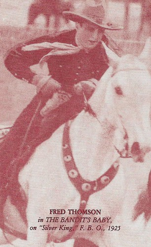 Fred Thomson in The Bandit's Baby (1925).