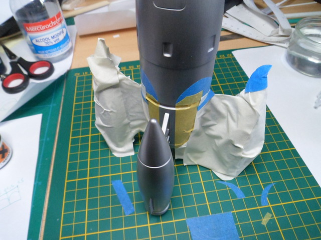 Pas-à-pas : Apollo 27 rocket [Pegasus 1/72] terminé en pg 4 et diorama à suivre - Page 3 49843264772_fe07ce3280_z