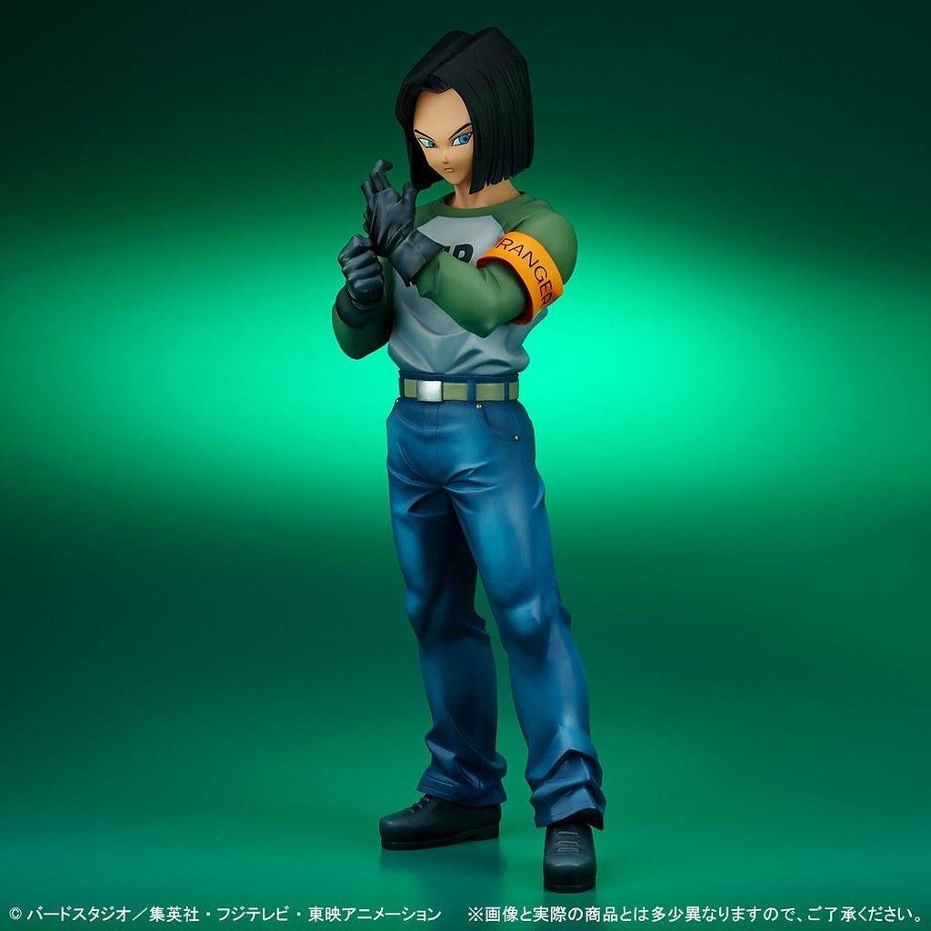 在力量大會上實力大爆發的男人~X-PLUS Gigantic Series《七龍珠超》人造人17號 & 全王 (ギガンティックシリーズ 人造人間17号【全王様付属】 )