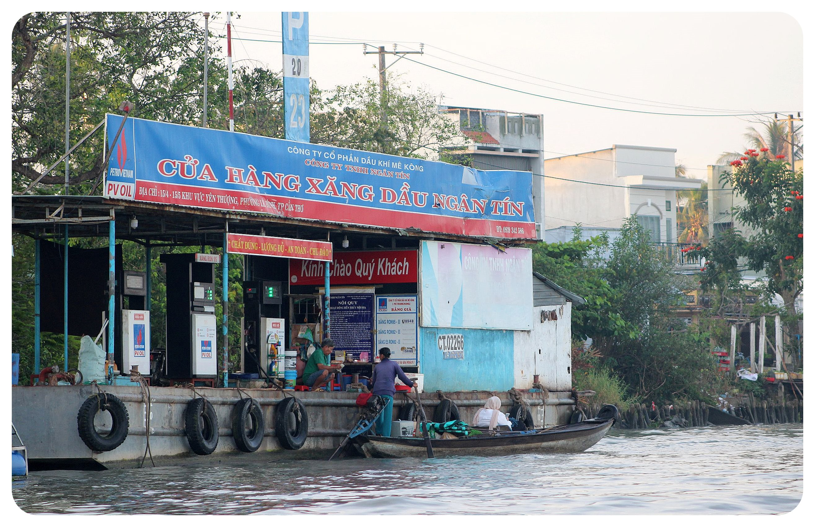 mekong delta gas station