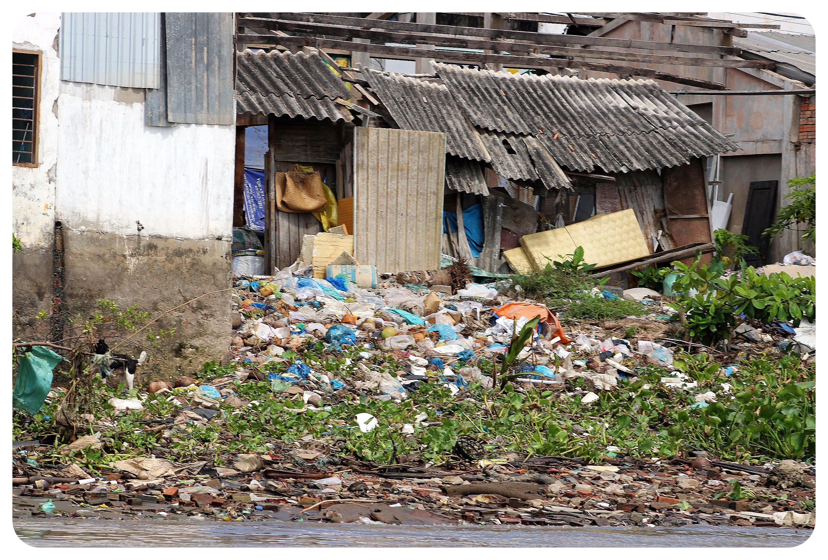 mekong delta garbage