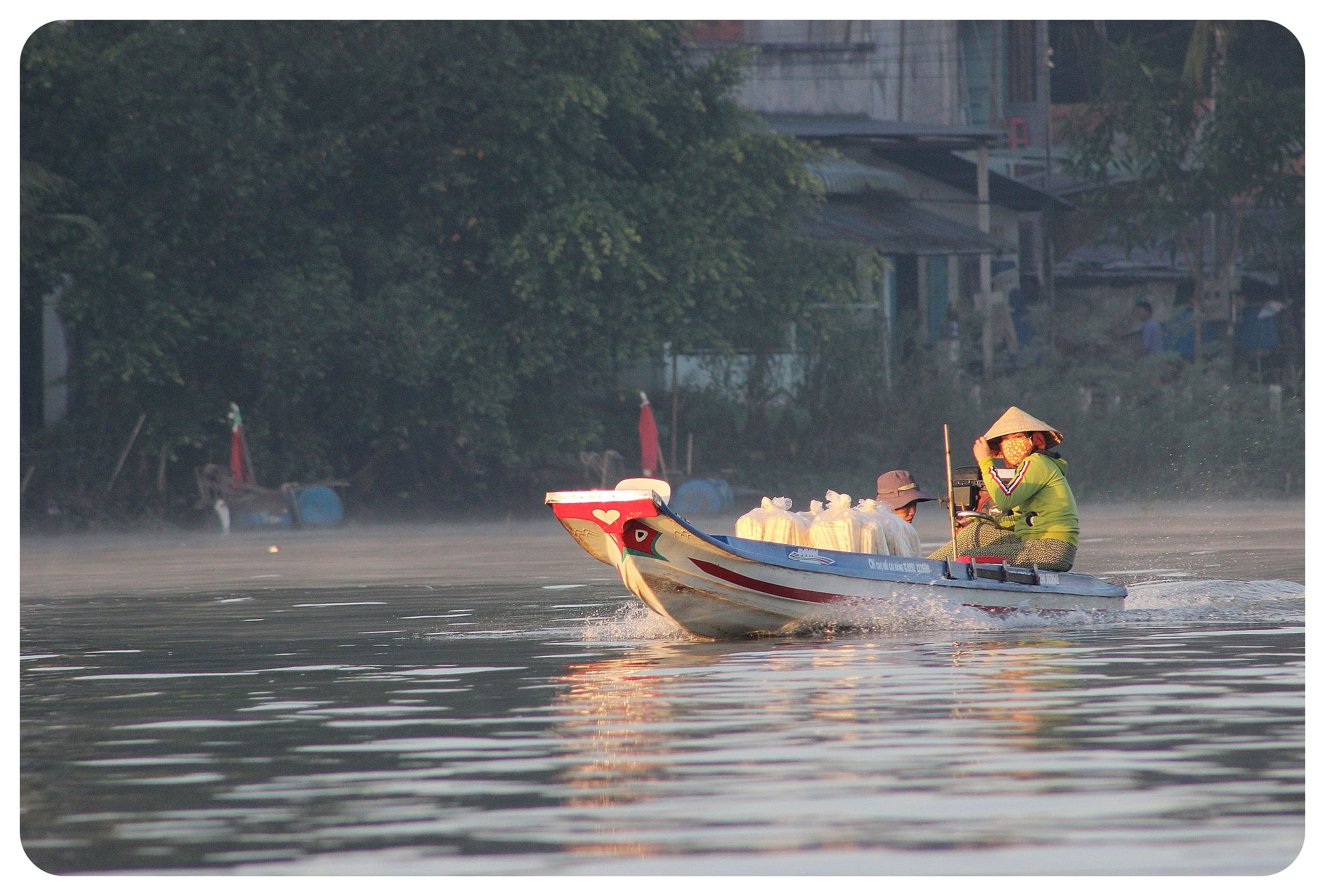 mekong delta early morning