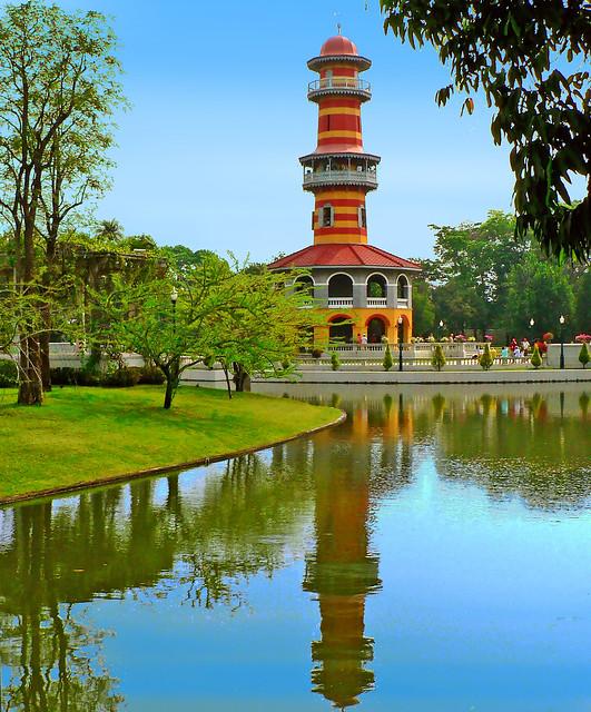 THAILAND - Ayutthaya - Bang Pa-In - Park of Summer Palace