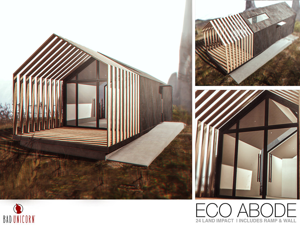 NEW! Eco Abode @ FaMEShed