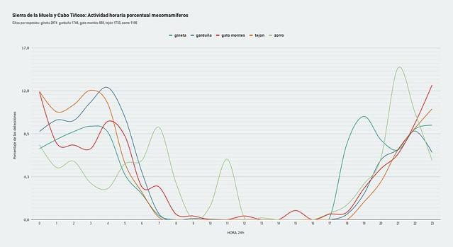 Sierra de la Muela y Cabo Tiñoso_ Actividad horaria porcentual mesomamíferos (1)