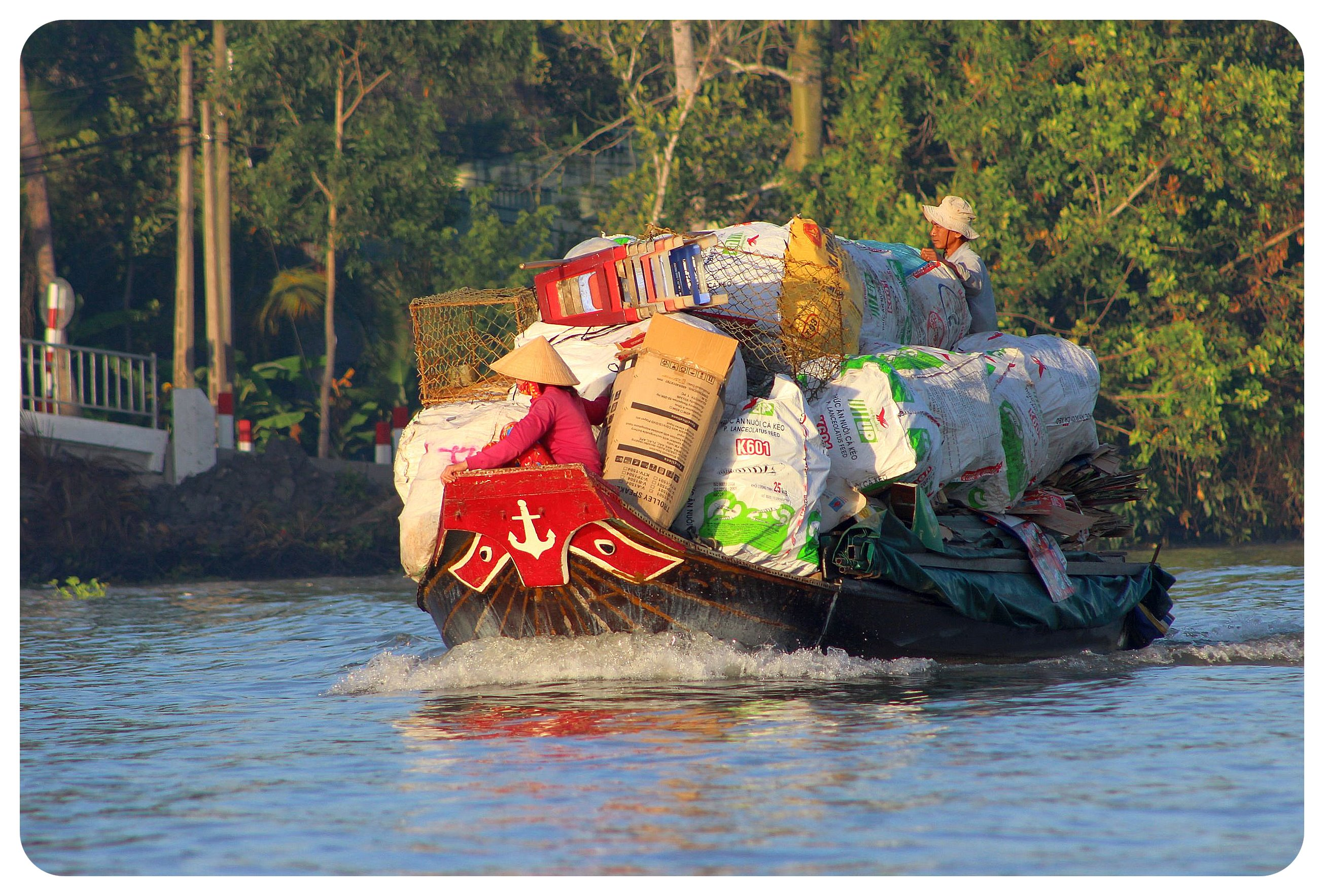 mekong delta floating truck