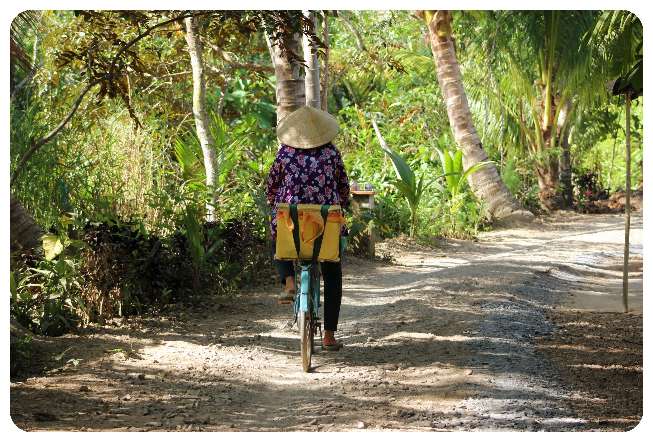 mekong delta cyclist