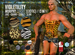 Violetility - Murphy Corset [Exotic]