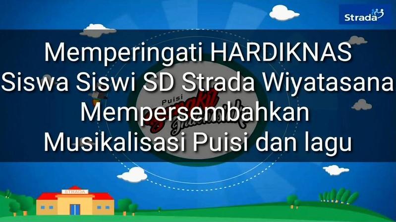 SD STRADA WIYATASANA MEMPERINGATI HARDIKNAS