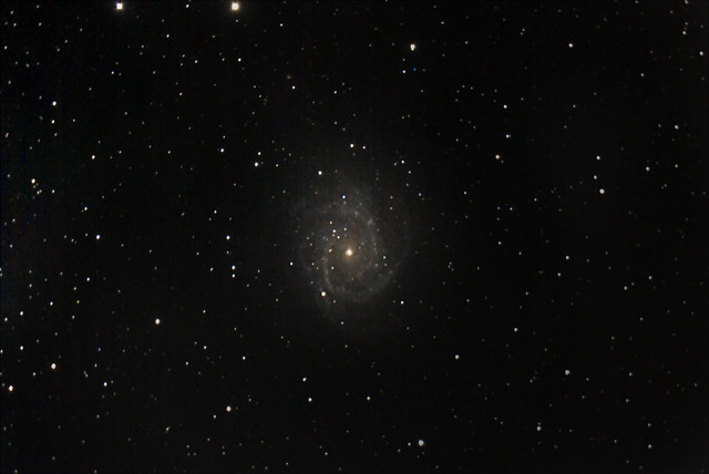 NGC 2997 Galaxy from the backyard.