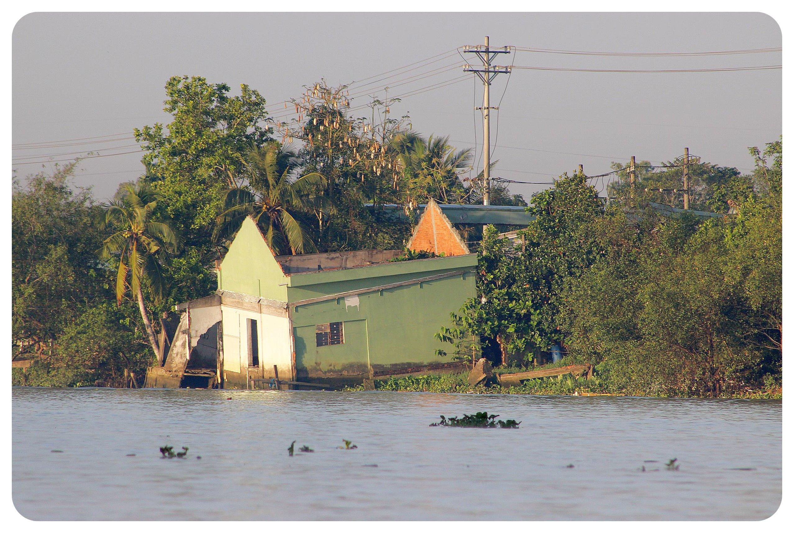 mekong delta abandoned house