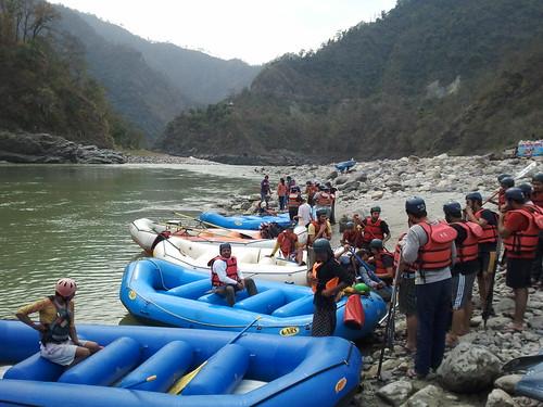rafting zone