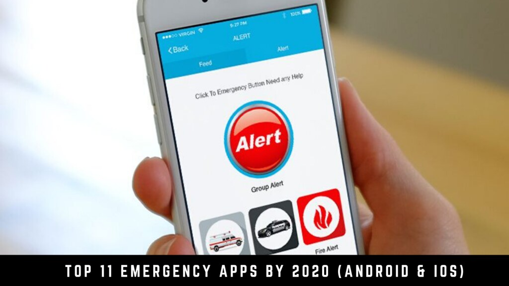 Top 11 emergency apps by 2020 (Android & iOS)
