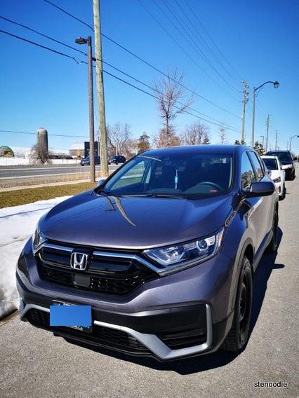 Honda CR-V 2020 in steel grey
