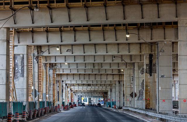 Underneath the Gardiner Expressway