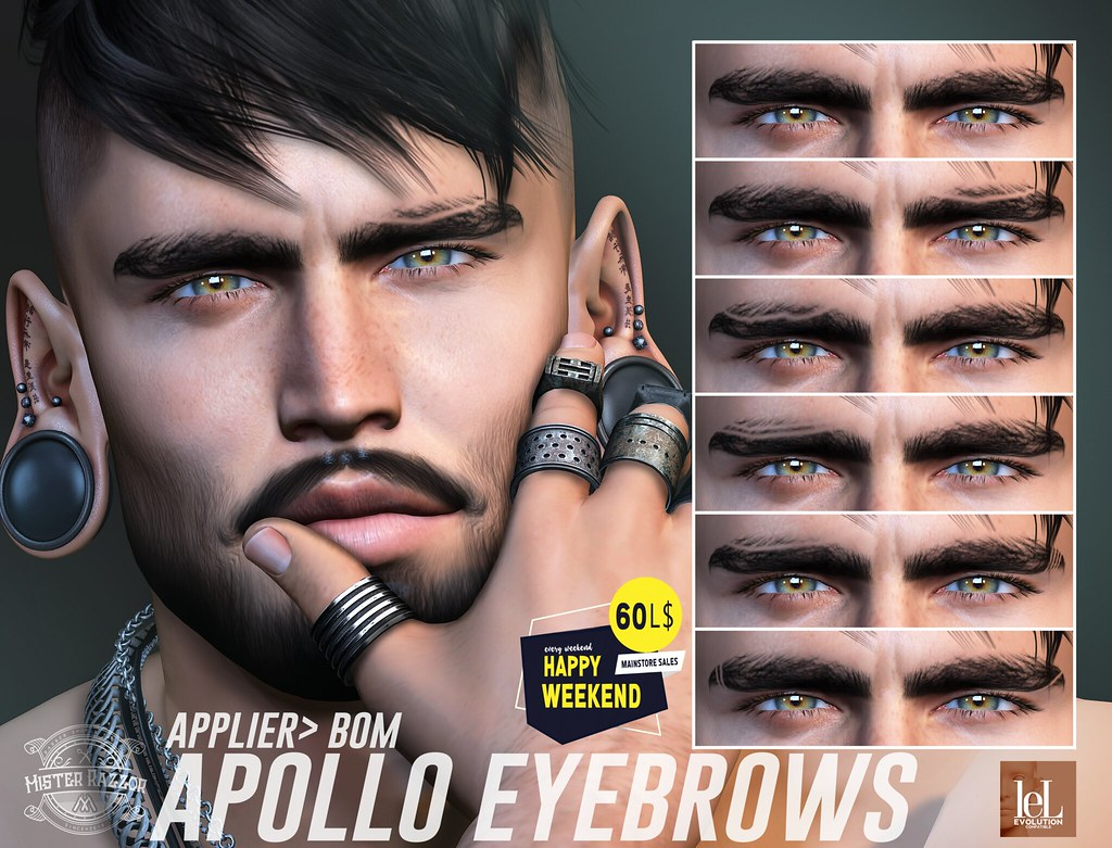 ((Mister Razzor)) Apollo Eyebrows HW