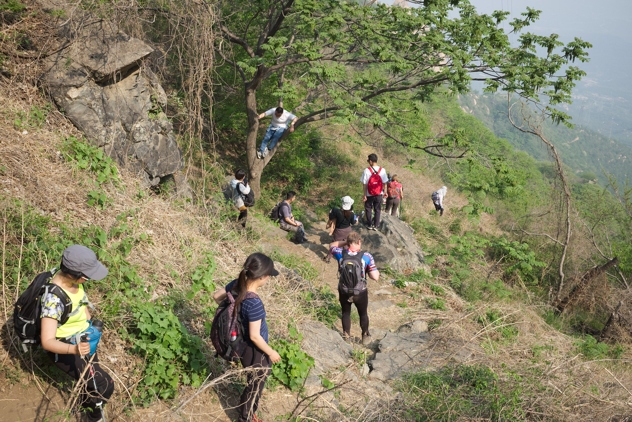 Fenghuangling_downhill