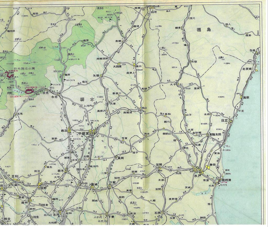 関東周辺有料道路 (1-2)