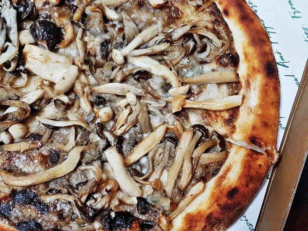 Mushrooms, Truffle, Mascarpone, Tuscan Pecorino