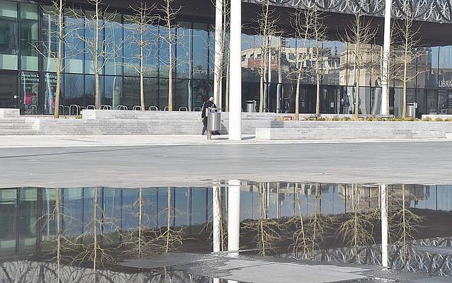 Centenary Square, Birmingham.