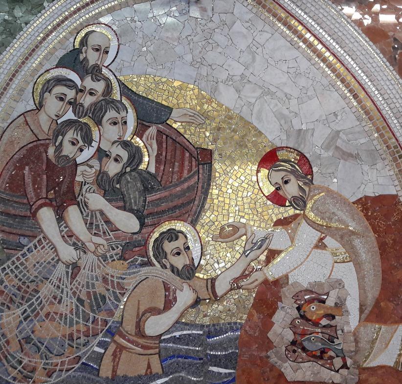 Jesús devuelve a sus apóstoles la alegría perdida